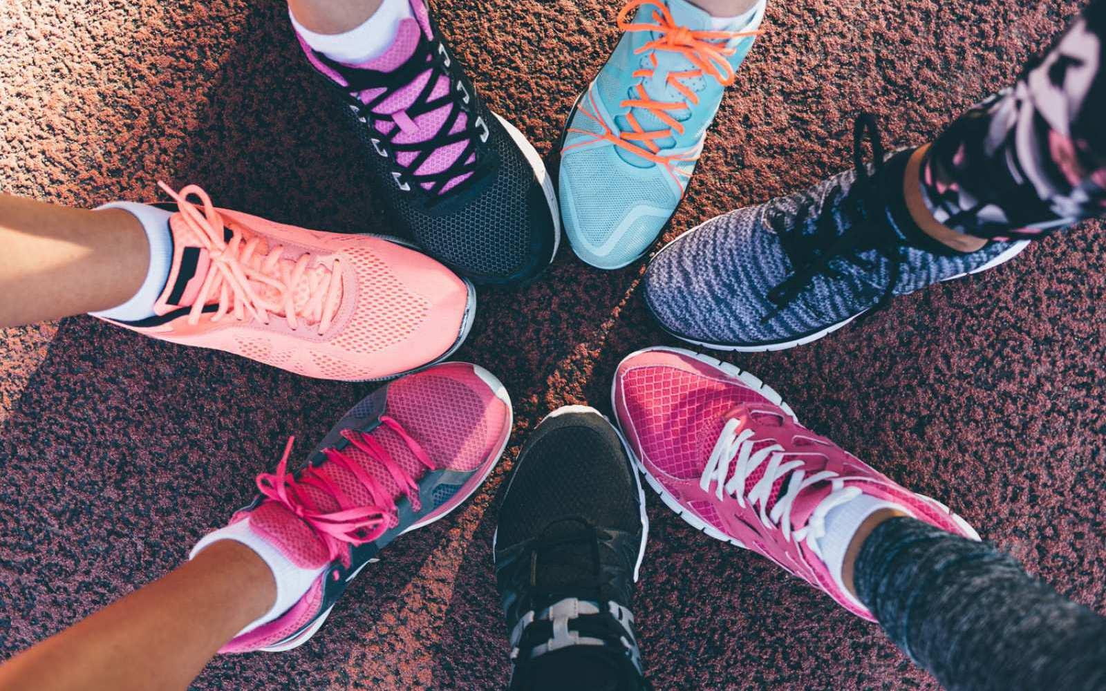 Auf die richtigen Schuhe kommt es an, dann steht dem Sport nichts mehr im Weg!