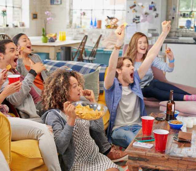 Immer wieder schön: Ein sommerlicher (Fußball)-Filmabend mit Freunden.