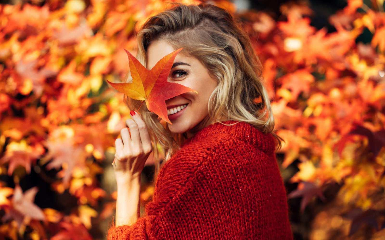 Der goldene Herbst ist zwar schön – allerdings auch eine Herausforderung für unsere Schönheit