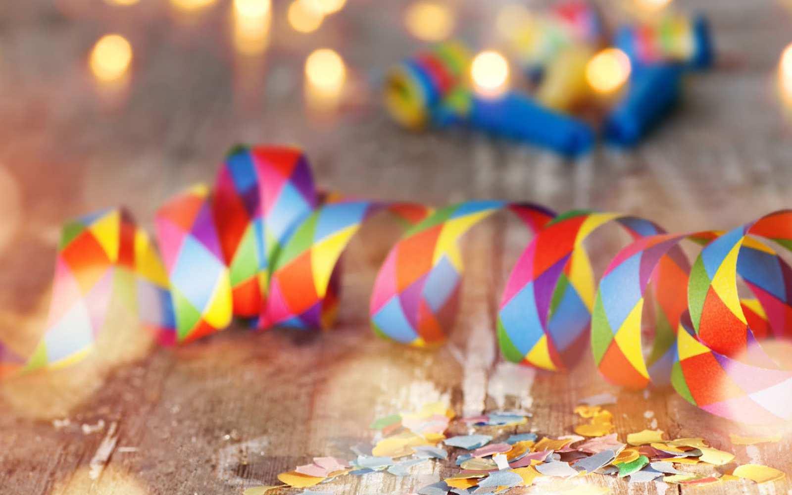 Zeit für Konfetti und Luftschlangen, der Karneval kann kommen!